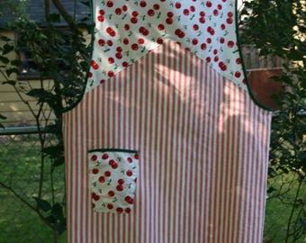 Vintage reproduction apron, size Medium, ready made