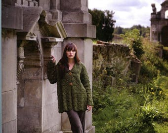 Donegal Tweed - Debbie Bliss Knitting Pattern Book - 11 Designs for Women & Men