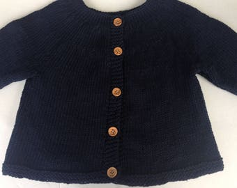 Baby Cotton Sweater, Cardigan Sweater Baby, Cotton Sweater Size 6 Mth, Baby Sweater Size 1, Sweater Size 2, Cotton Sweater Size 4, Size 6