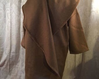 Wool Mohair Kimono Coat