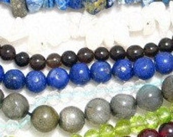 2 strand blue lapis gemstone bead lot  strands for jewelry round 5 .5 mm 15 inch