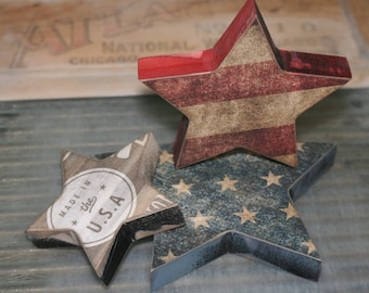 Americana Star Trio Made in the USA