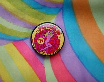 Aries... 1.5 Inch Button... 1.5 Inch Badge... 1.5 Inch Pin