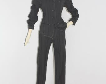 ISSEY MIYAKE Vintage PLEATED Suit Jacket Blazer Pants