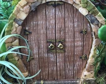 """SALE Beautiful Fairy Door, """"Enchanted"""" Style 4248, Fairy Garden Door, Miniature Home & Garden Accessory, Mini Door"""