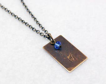 Team Mystic Inspired Pokemon Go Necklace in Antique Brass - Team Mystic Necklace, Team Mystic Jewelry, Pokemon Go Jewelry, Geek Necklace