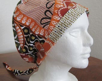 Scrub Hat Sewing Pattern Tutorial New Diy Pixie Style Tieback
