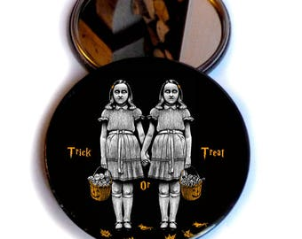 Pocket Mirror TRICK OR TREAT