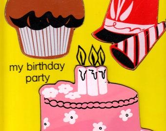 Vintage birthday cake Etsy