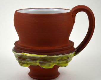 Coffee Mug/ Ceramic Coffee Mug/ Coffee Cup/ Terracotta Coffee Mug/ Ceramic Coffee Cup