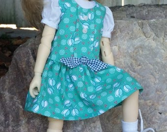 """SASSY JUMPER   made to fit 13"""" Little Darling Effner and 13"""" Avery Meadowdoll  by Darla"""