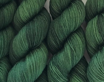 Green Gables, Canon Hand Dyes John Merino Sock Fingering Yarn