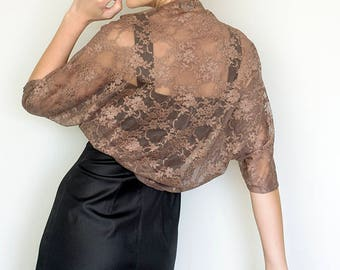 Bronze bridesmaid shawl set of 5, shawls for bridesmaid, set of shawls, copper lace shawls, bronze bridesmaid, copper shawls