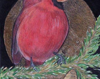Cardinal....Original Art