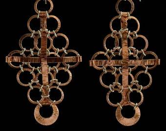 Copper 'Diamond-Cross'
