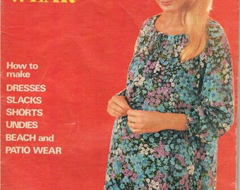 "Vintage Enid Gilchrist 1970's Drafting Book  - ""Smocks & Maternity Wear"""
