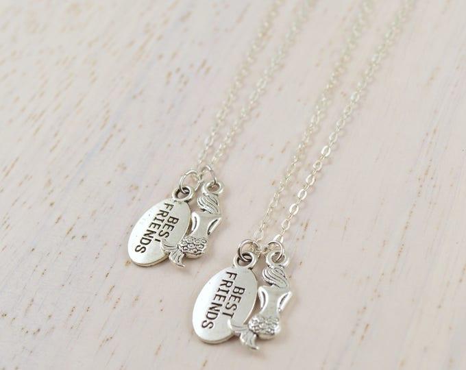 Mermaid Best Friend Necklaces