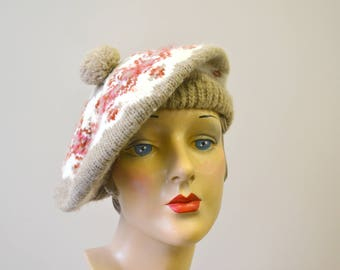 1980s Hansen Winter Tam Hat