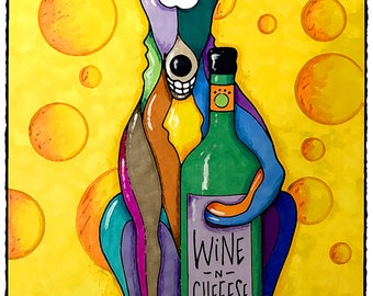 Wine and Cheeese