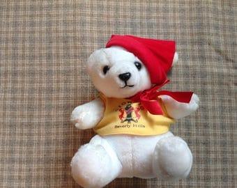 Vintage Giorgio Bear, Giorgio Teddy Bear, Giorgio Beverly Hills, 80's Teddy Bear, Collectible Teddy Bear