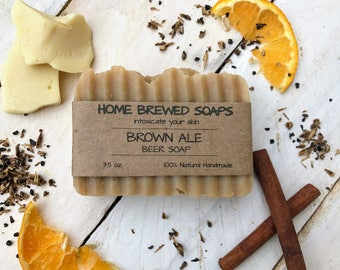Beer Soap, Homemade Soap, Mens Soap, Natural Soap, Boyfriend Gift, Handcrafted Soap, Beer Lover Gifts, Beer Gift, All Natural Soaps, Beer