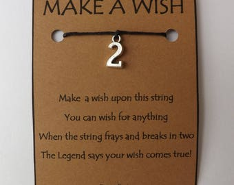 Any Number 1 to 10 WISH STRING Silvertone Bracelet String Band Friendship Bracelet Cord Color Choice