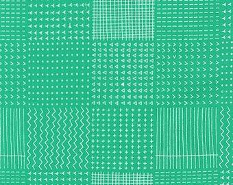 Blueberry Park Rough Patch in Cypress, Karen Lewis Textiles, Robert Kaufman Fabrics, 100% Cotton Fabric, AWI-15751-345 CYPRESS