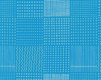 Blueberry Park Rough Patch in Water, Karen Lewis Textiles, Robert Kaufman Fabrics, 100% Cotton Fabric, AWI-15751-246 WATER
