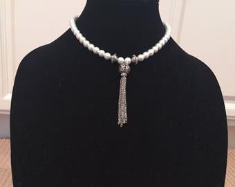 The Tudors Anne Boleyn Tassel Necklace - Tudor