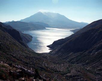 Mount St Helens and Spirit Lake