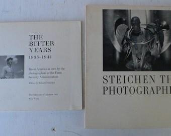 vintage photography books, the Bitter Years 1935-1941, The Museum of Modern Art, Edward Steichen, 1962, from Diz Has Neat Stuff