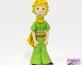 The Little Prince Cake Topper - Le Petit Prince (Polymer Clay Sculpture)