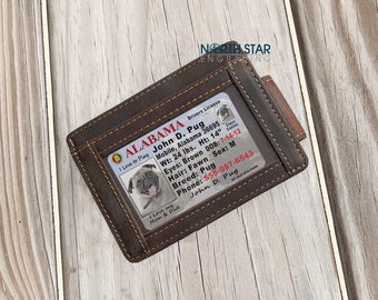 Gift for him, Money Clip, Money clip wallet, minimalist wallet, Custom Money Clip, Personalized gift, Groomsmen wallet, Groomsmen gifts