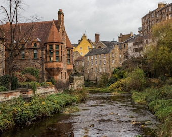 Dean Village and the Water of Leith -  Village in Edinburgh - United Kingdom Photography