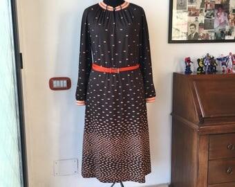 Vintage sartorial dress 70s