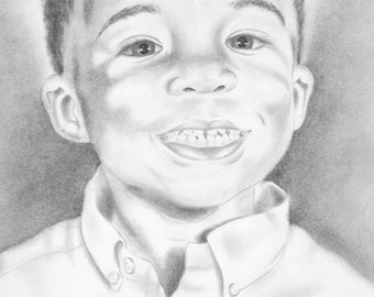 Black and White Portraits drawn to order