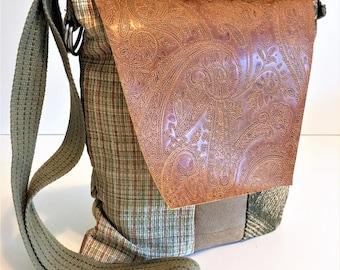 Boho Bag, Handmade Bags, Eco Friendly Bag, Vegan Bag, Boho Tote, Small Bag, Crossbody Bag, Recycled Bags, Boho Purse, Hobo Bag, Hippie Tote