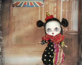 Blythe  ~ Vintage Circus Inspired 3 Piece Outfit ~ By KarynRuby