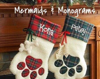 Pet Christmas Stocking | Dog Christmas Stocking | Cat Christmas Stocking | Fur Baby l Christmas l Kitty l Cat l Dog l Puppy l Pets l