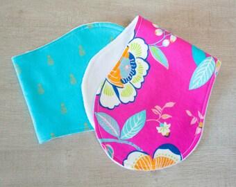 Take Me To The Tropics Baby Burp Cloth Set