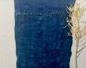 Mossi Cloth African Fabric   Vintage Textile Indigo Mudcloth African Indigo Cloth African Fabric Indigo fabric Indigo Throw Beach Blanket 72