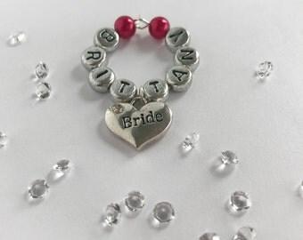 Name Wine Charms, Wine Charms, Wine Charm Tags, Personalized Wine Charms, Wine Glass Charms, Wedding Wine Glass Charms, Wine Glass Name Tags