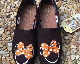 Halloween Minnie Mouse TOMS or BOBS