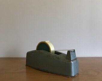 vintage metal tape dispenser