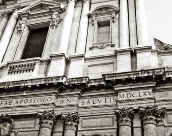 Sant'Andrea della Valle, Rome, Italy - 17th Century Basilica Baroque Architecture Renaissance Art Catholic Church Travel Photography Print