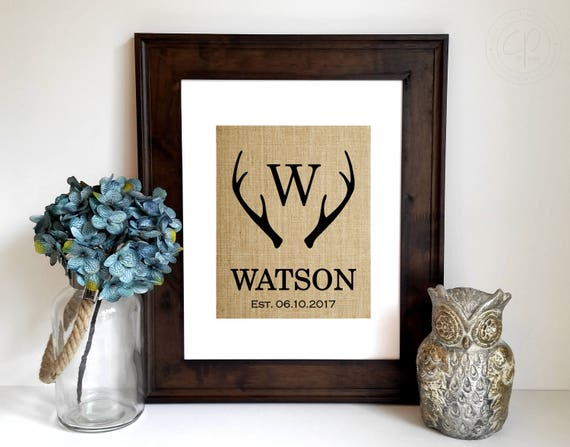 Wedding Gifts For A Couple: Personalized Wedding Gifts For Couple Engagement Gift Deer