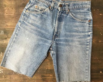 Levi Strauss Orange Tab Cut Off W29 Shorts