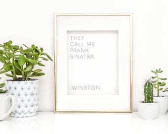 new girl show - new girl print - new girl artwork - new girl quote - new girl schmidt - new girl winston - new girl funny quote - new girl