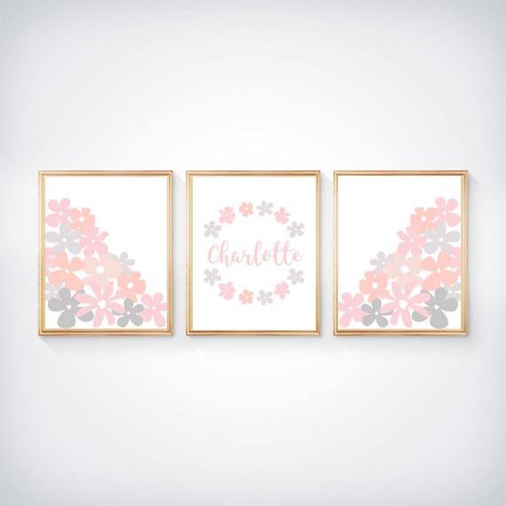 Blush Baby Prints- 3-8x10 Personalized Prints
