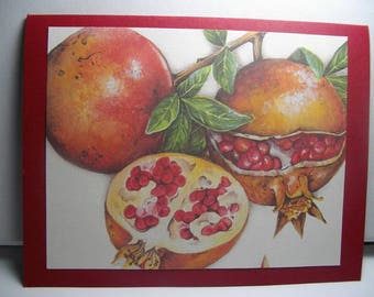 Pomegranates 8-Card Box
